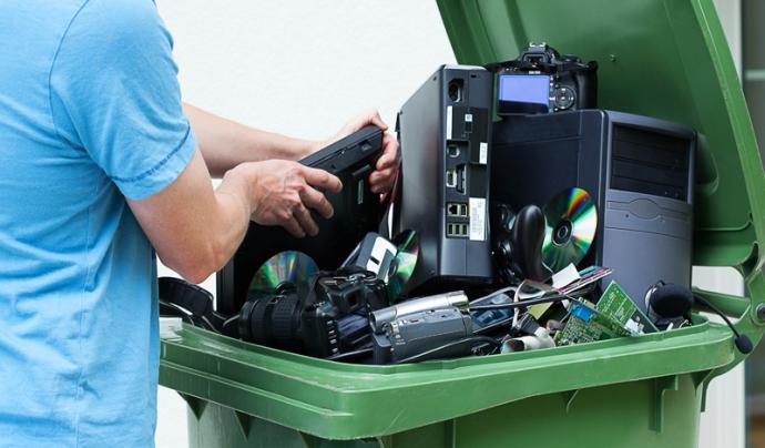 Residuos electrónicos, tierra sin ley