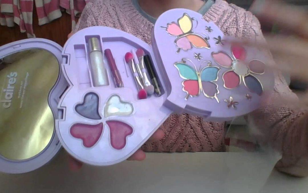 Retirado un juego de maquillaje para niños de Claire's por contener amianto